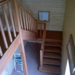 Лестница из дерева на заказ в Калининграде