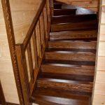 Лестница из дерева на заказ, от 40000 рублей